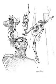 sketchbook spidey 2 by thekidkaos on deviantart