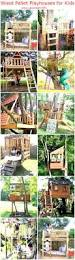wood pallet playhouses for kids upcycle art