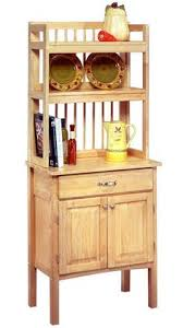 bakers rack with cabinet wooden baker s rack pattern and instructions u build woodworking