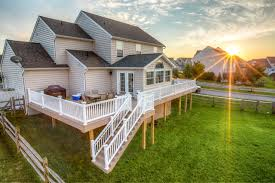 Deck To Sunroom Vinyl Deck With Sunroom Traditional Porch Other By Stump U0027s