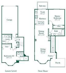 3 Bedroom Apartment Floor Plan 1 2 Or 3 Bedroom Apartments In Novi Brownstones