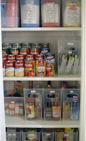 love the idea of using inexpensive file boxes to hold pantry