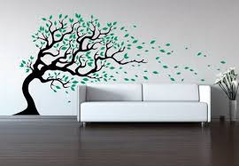designer wall tree in wind wall decal designer walls and floors