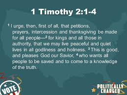 1 timothy 2 1 4 1 i urge then of all that petitions