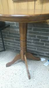 Unfinished Bistro Table Antique Oak Pub Table Amish Counter Height Dining Set Full Size Of