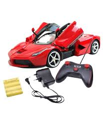 toy ferrari model cars a r enterprises red ferrari remote control car easy mart