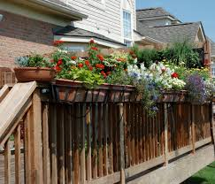 Walmart Planter Box by Decor Walmart Planter Box Deck Planter Ideas Deck Rail Planters