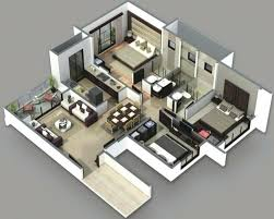 House Plans And Designs For 3 Bedrooms Two Bedroom House Design House Plan 3 Bedroom House Designs