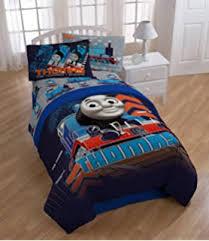 amazon com 5pc thomas the train full bedding set go faster tank