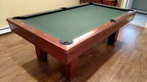 7 Foot Pool Table 7 U0027 Brunswick Hawthorn Pool Table For Sale Used