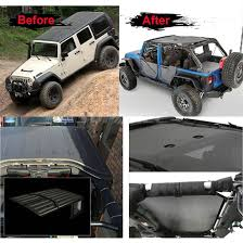 jeep wrangler 2 door hardtop mesh sunshade hardtop for jeep wrangler jk 4 door sahara sport