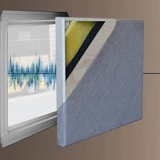 soundlock soundproofing panel for windows size 47 75