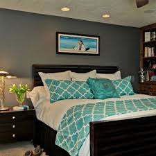 bedroom feature wall paint interior house plan