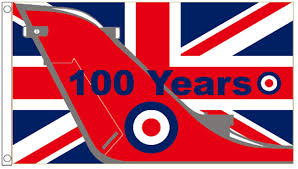 100 Pics Flags Royal Air Force Raf 100 Years Anniversary 5 X3 Flag