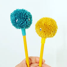 pom pom pencil toppers best pencil 2017