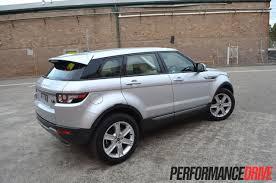 range rover evoque pure sd4 review performancedrive