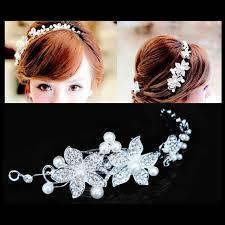 bridesmaid hair accessories new korean wedding headband dress hair accessories white
