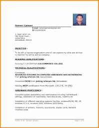 best resume format for freshers computer engineers pdf fascinating latest resume format for freshers it engineers fresher