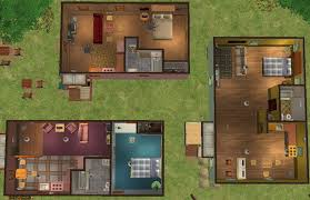 mod the sims main street mobile houses remake of maxis lot