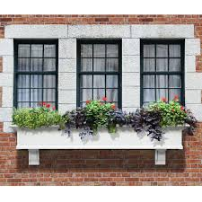 Self Watering Wall Planters Self Watering Window Boxes Pots U0026 Planters The Home Depot