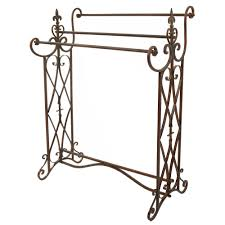 Free Standing Towel Stands For Bathrooms Creative Free Standing Bathroom Towel Rack Design Orchidlagoon Com
