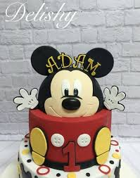 mickey mouse cake mickey mouse birthday cake cake by zahraa cakesdecor