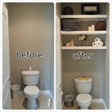 Pinterest Bathroom Shelves Image Result For Water Closet Makeover Bathroom Makeover Master