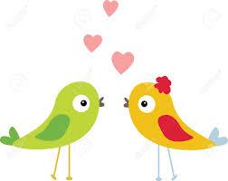 lovebird clipart cartoon pencil and in color lovebird clipart