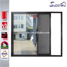 Door Grill Design Aluminum Grill Glass Sliding Door Aluminum Grill Glass Sliding