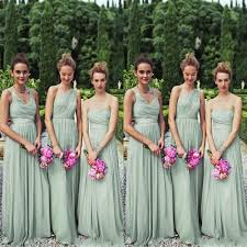 2015 lady chiffon styles to honor knee dresses sage green