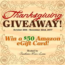 southern win a 50 gift card in the thanksgiving