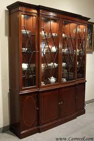 mahogany china cabinet furniture 1960 china cabinet vintage mahogany china cabinet by baker furniture