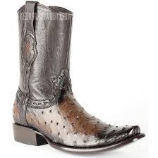 shop boots dubai shop the best brown ostrich fashion boots by king