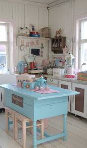 shabby chic kitchen island shabby chic kitchen with blue island beautiful shabby chic