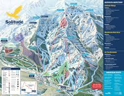 Squaw Trail Map Solitude Ski Trail Map Free Download