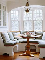 Table For Banquette Inspired By 8 Charming Banquettes The Inspired Room