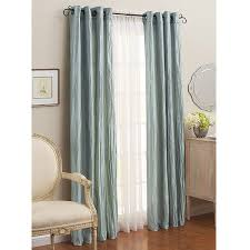 Better Homes Curtains Better Homes And Gardens Crushed Taffeta Curtains Set Of 2