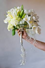 Wedding Flowers Delivery Clustered Bridal Bouquet A Clustered Bridal Bouquet With White