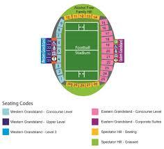 stadium seating plan campbelltown city council