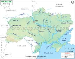 map of europe and russia rivers ukraine river map
