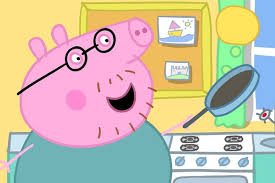 daddy pig reveals fatherhood love style father u0027s