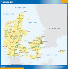 our denmark wall map wall maps mapmakers offers poster