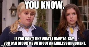 Pitch Perfect Meme - fat amy pitch perfect imgflip