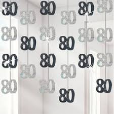 80th Birthday Party Decorations 80th Birthday Decorations Woodies Party