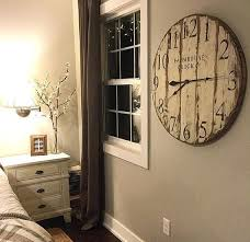 Best 25 Large Wall Clocks Best 25 Farmhouse Clocks Ideas On Pinterest Big Clocks Landing