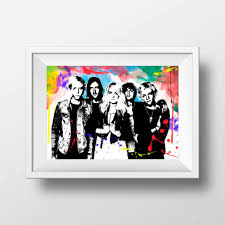 printable r5 band poster print wall art decor instant download