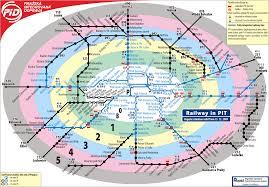 Prague Subway Map by Prague Public Transport