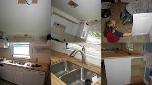 mama nibbles our low cost chef s kitchen remodel project 700 on the butcher block countertop ordered from lumber liquidators 40 for a franke extra deep undermount sink bought off of craigslist normally