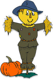 scarecrow clipart thanksgiving pencil and in color scarecrow
