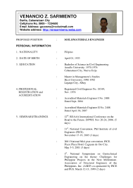 civil engineering resume templates resume for your job application